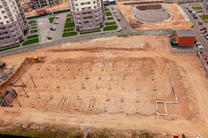 ЖК Лесной квартал парковка фото 1