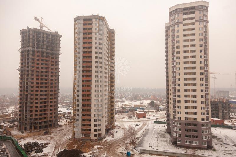 ЖК Лесной квартал дома 10 и 5А декабрь фото