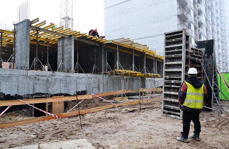 Дом Петлюры 21-Б Бровары: строительство фото март #2