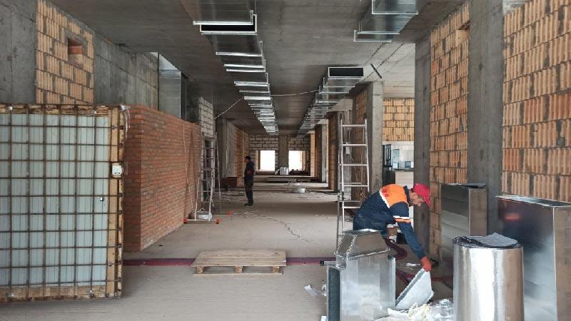 Школа №10 Бровары: Ход строительства апрель 2021 #1