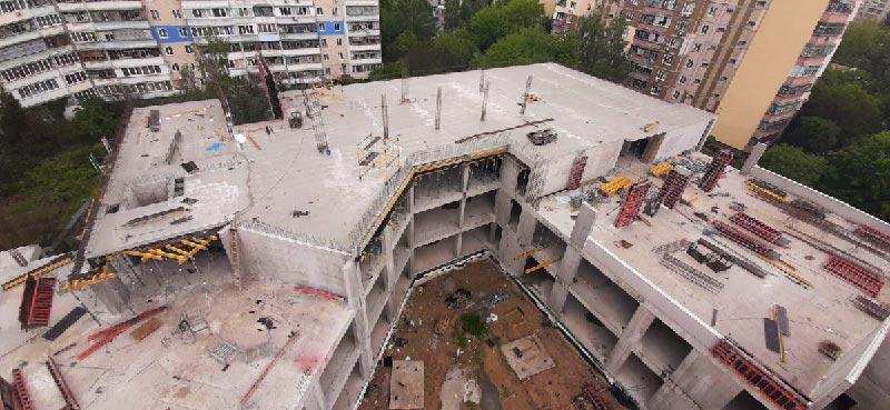 Школа №10 Бровары: Ход строительства июнь 2020 #1