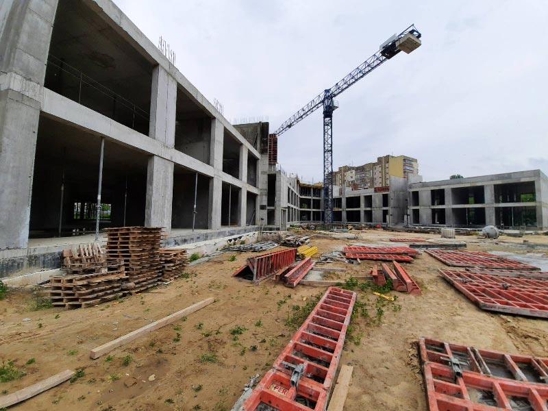 Школа №10 Бровары: Ход строительства июнь 2020 #2