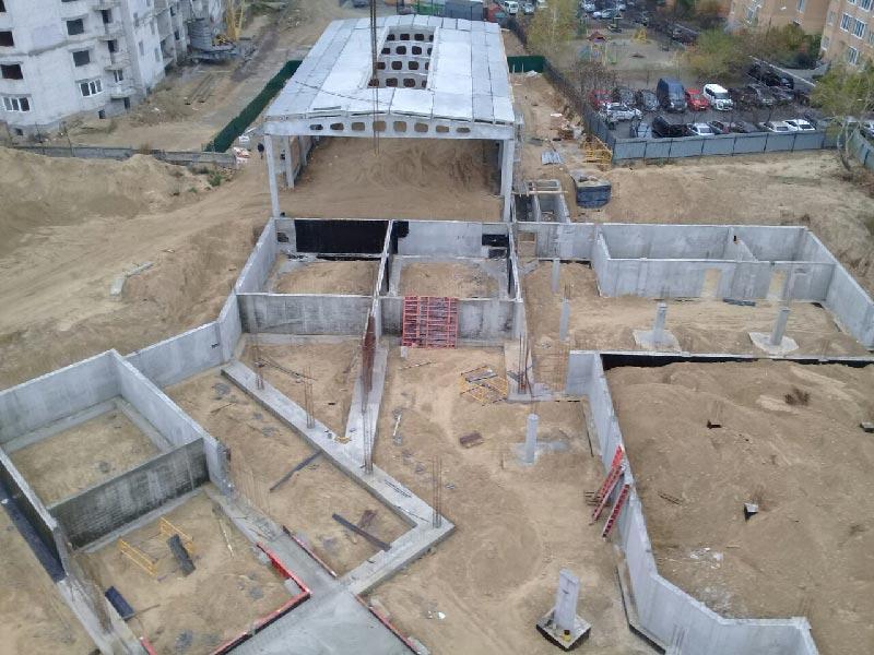 Строительство школы №10 в Броварах идет по плану
