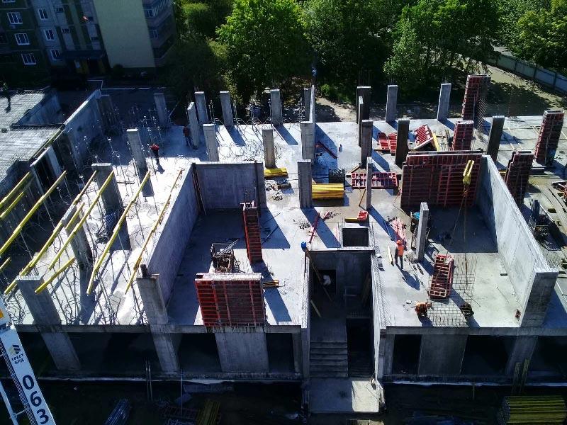 Школа №10 Бровары: Ход строительства май 2020 #1