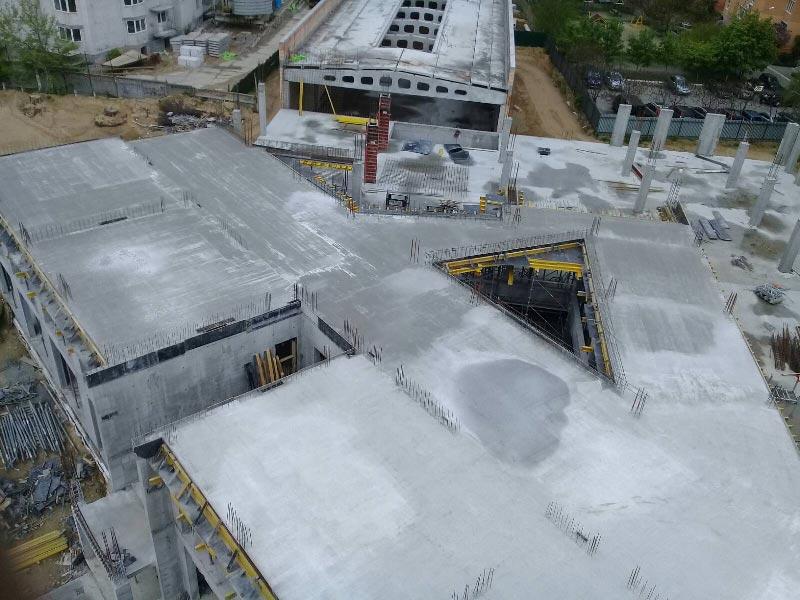 Школа №10 Бровары: Ход строительства май 2020 #2