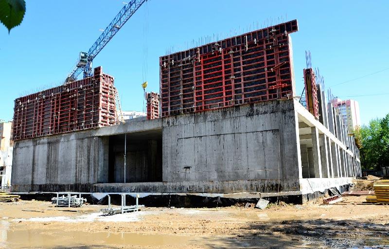 Школа №10 Бровары: Ход строительства май 2020 #3