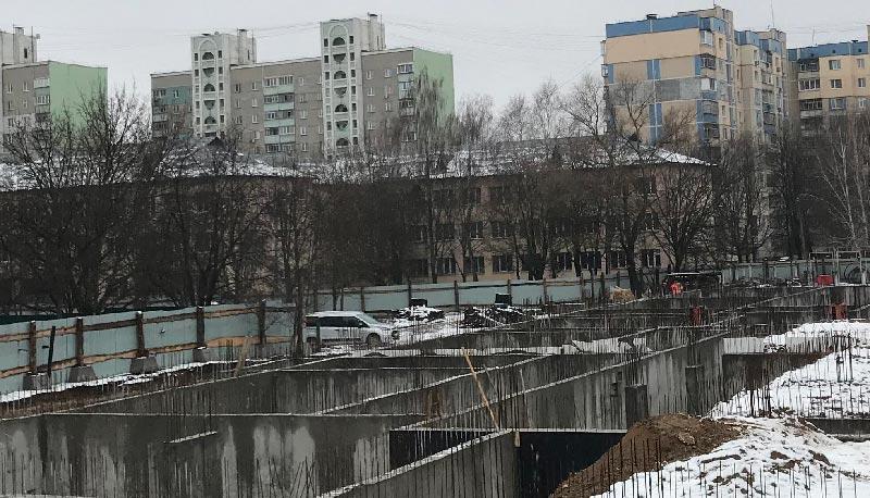 Школа №10 Бровары: Ход строительства январь 2020 #3