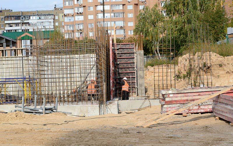 Школа №10 Бровары: Ход строительства