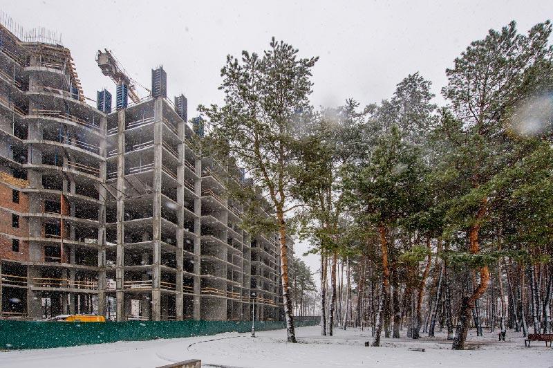 ЖК Крона Парк январь 2019 фото #1
