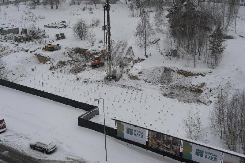ЖК Квартал Аллей декабрь 2018 фото #1