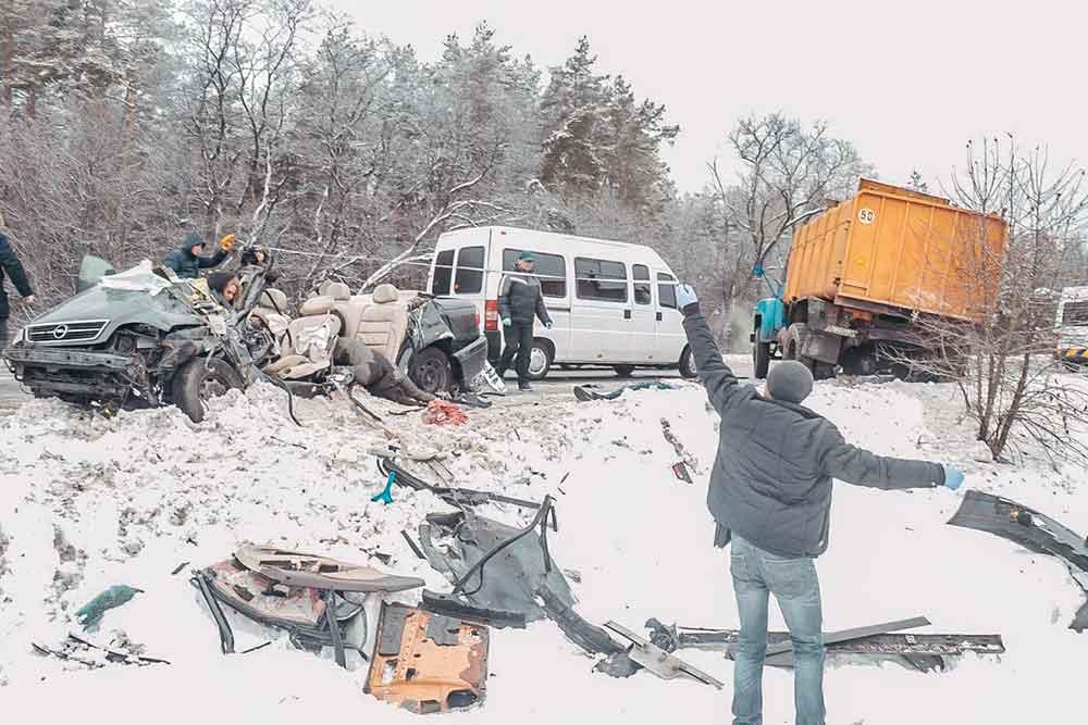 Умер четвертый участник ДТП возле села Залесье